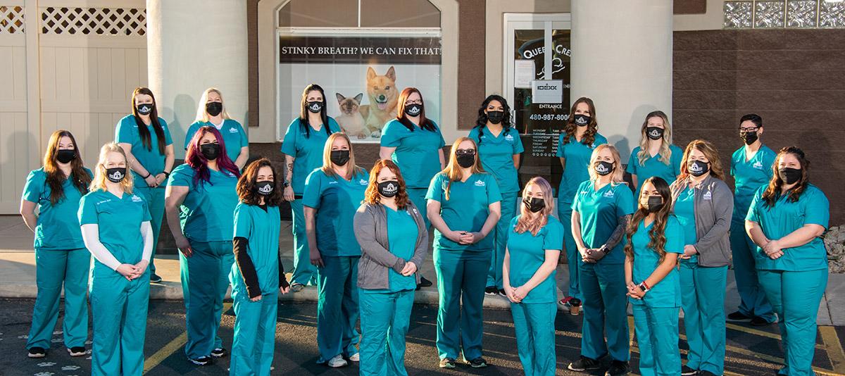 Queen Creek Vet Clinic Staff